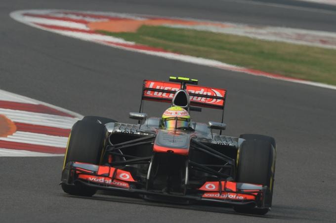 McLaren a due facce in India