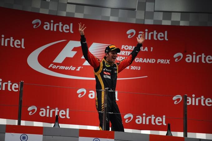 """Lotus, Grosjean: """"Non avrei mai scommesso nulla sul podio"""""""