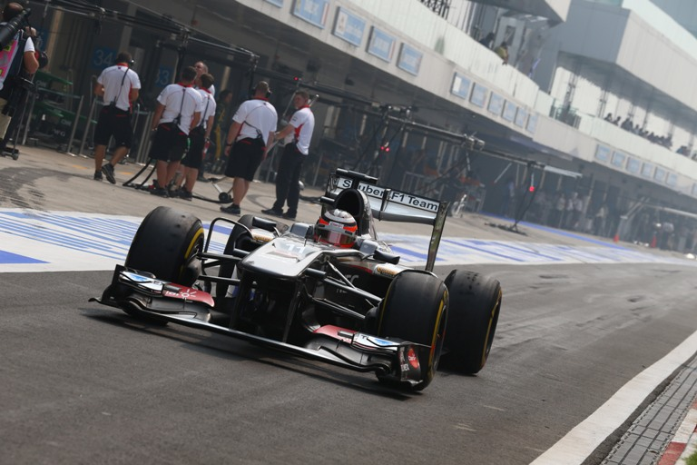 """Sauber, Hülkenberg: """"In gara mi aspetto di lottare con le McLaren"""""""