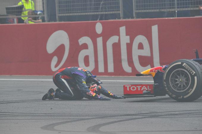 GP India: Vettel convocato dai commissari per i festeggiamenti in pista