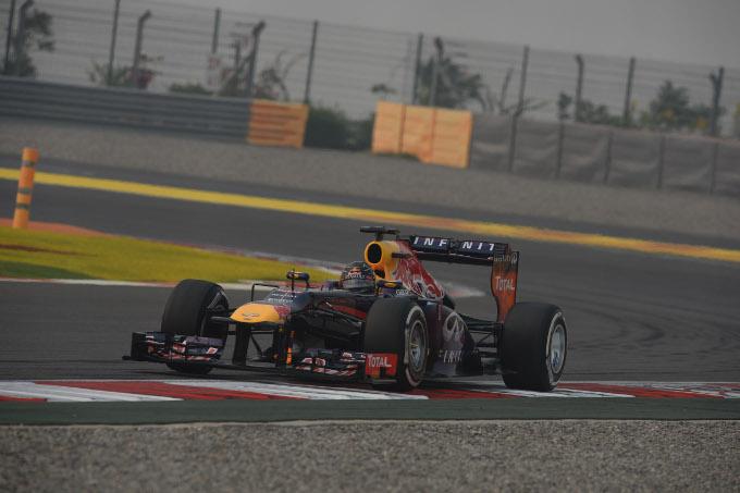 Vettel vince il GP India ed è Campione del Mondo per la quarta volta