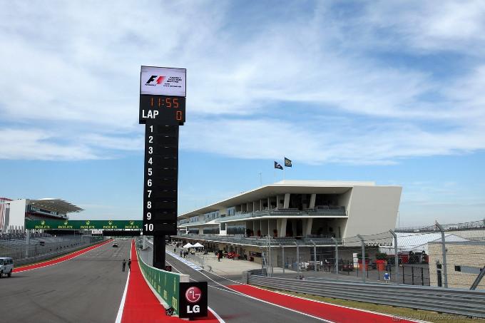 F1 GP USA Prove Libere 1 in Diretta. Sessione ripresa dopo nebbia e bandiera rossa