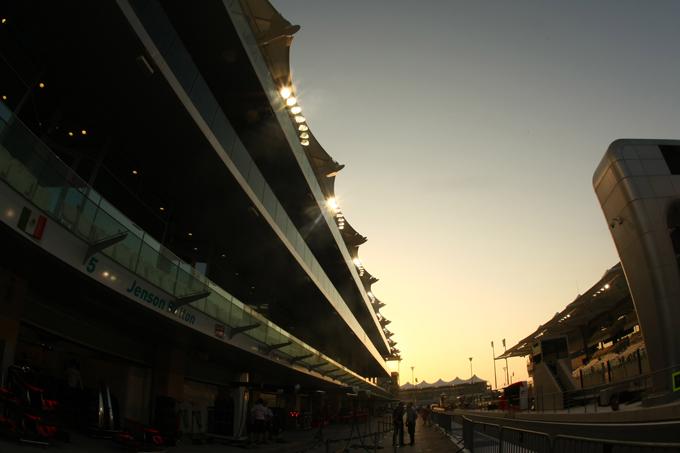 F1 GP Abu Dhabi Prove Libere 1 in Diretta