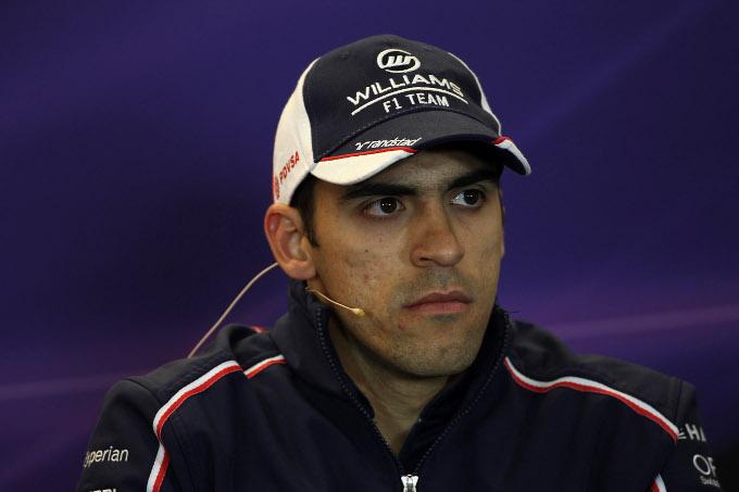 Pastor Maldonado ha visitato la base della Sauber ad Hinwil