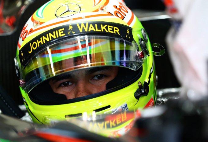 "McLaren: Perez, ""Sfortunato per l'incidente di ieri"""