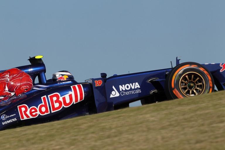 """Toro Rosso, Ricciardo: """"Giornata al di sotto delle aspettative"""""""