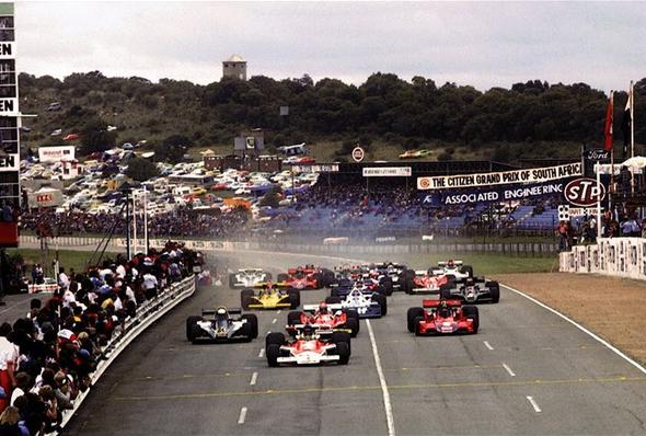 C'era una volta ai primi dell'anno… Il Gran Premio del Sud Africa