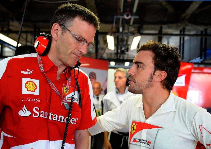 Ferrari: Intervista a James Allison dopo i primi 4 mesi a Maranello
