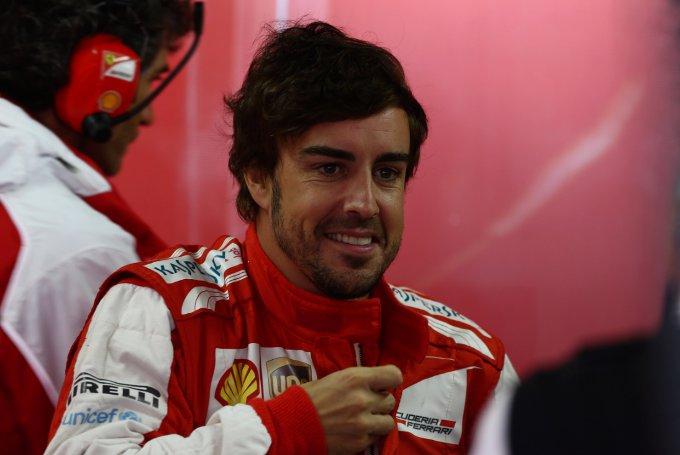 Alonso, primo assaggio del 2014