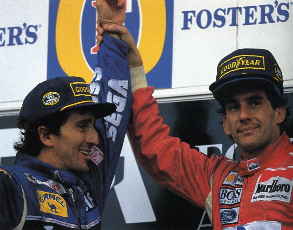 Senna vs Prost: la fine di un'era