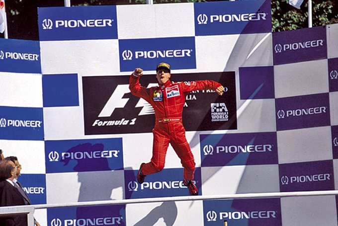 Ferrari: Forza Michael!