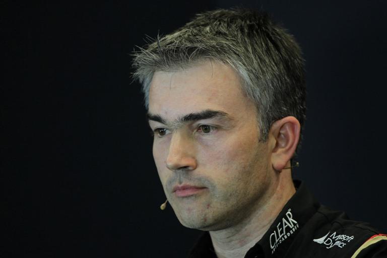 La Lotus salta i test di Jerez