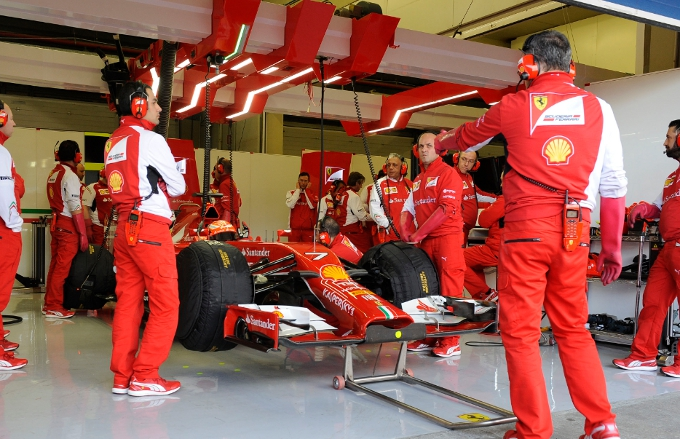 F1 – Ferrari: Un tris di collaudatori