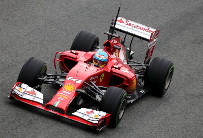 La Ferrari F14 T sarebbe in vantaggio in termini di consumo e raffreddamento