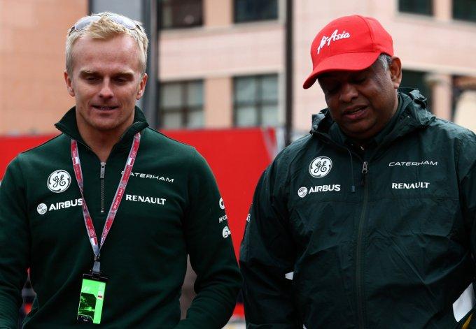 """Caterham: Fernandes, """"Kovalainen fuori per le scarse prestazioni in Lotus nel 2013"""""""