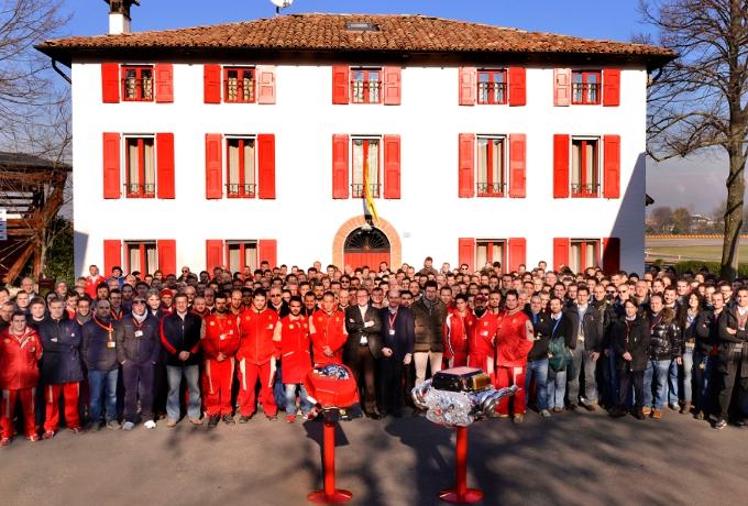 F1 – Ferrari: Numeri da record per il motore 056 otto cilindri