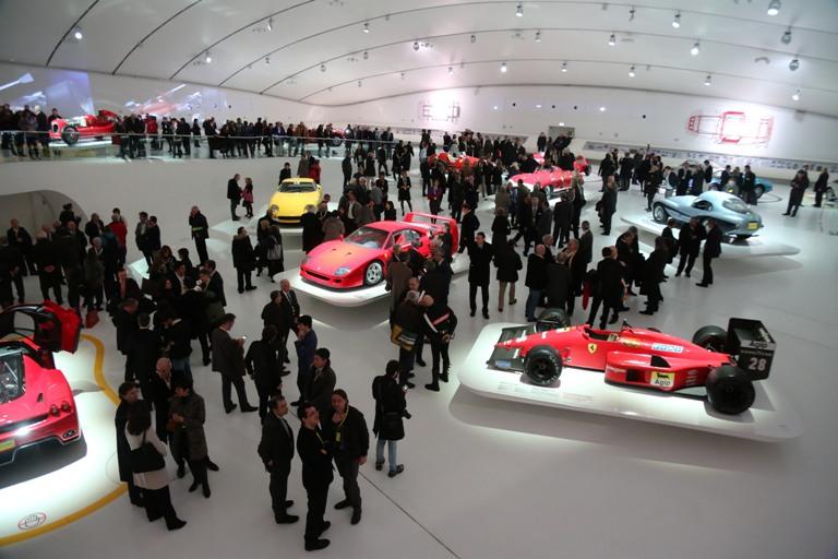 Inaugurato il Museo Enzo Ferrari a Modena