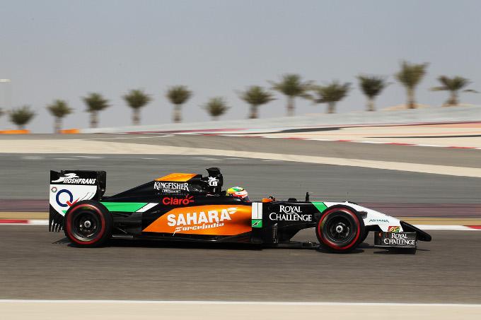 Test F1 Bahrain, giorno 1: Perez precede Bottas e Raikkonen