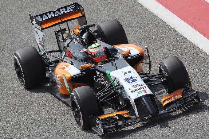 Test F1 Bahrain: Perez al comando in mattinata