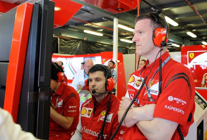 """Ferrari: Allison, """"Abbiamo il nostro bel da fare per migliorare la vettura"""""""