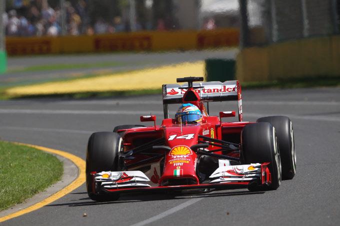 GP Australia 2014, Prove Libere 1: Alonso al comando
