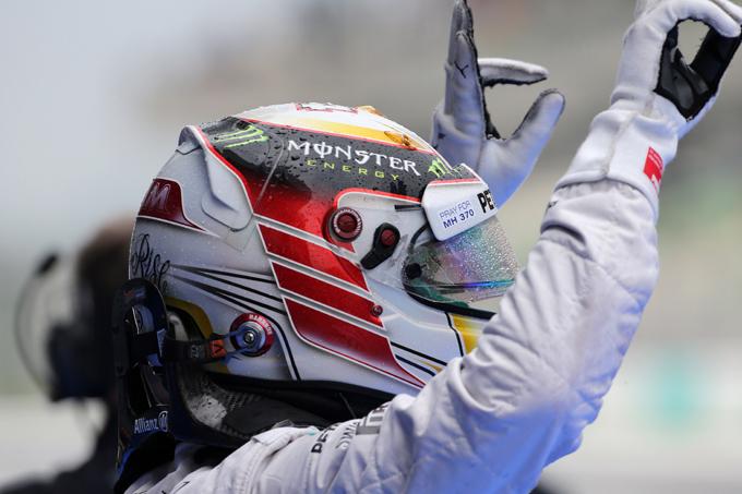 "Hamilton: ""Davvero felice della pole"""