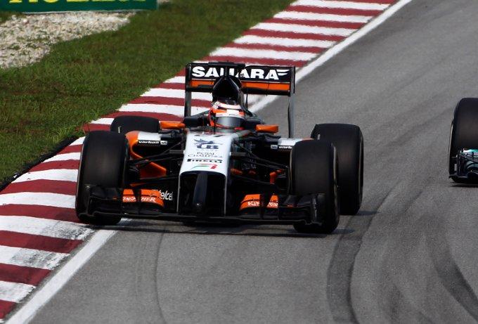"""Force India: Hulkenberg, """"Un eccellente lavoro di squadra"""""""