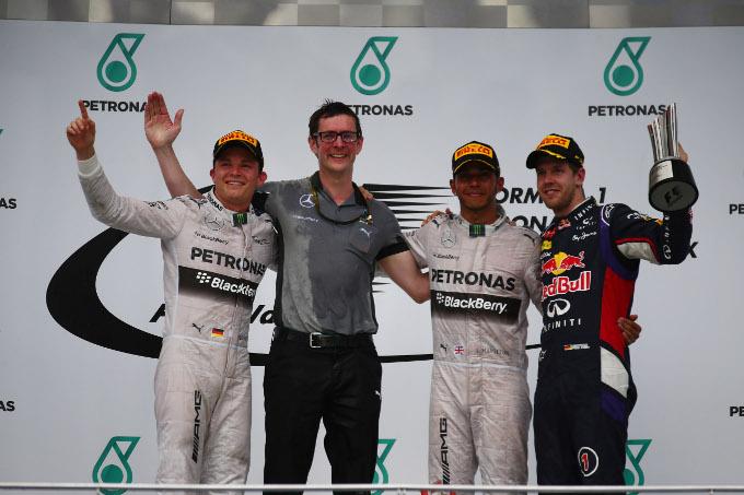"Rosberg: ""Hamilton era troppo veloce oggi"""