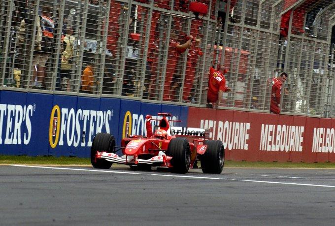 Sette trionfi in Australia per la Ferrari