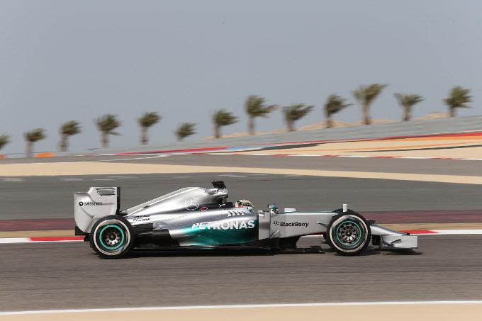 GP Bahrain, Prove Libere 3: Hamilton precede Rosberg, dominio Mercedes