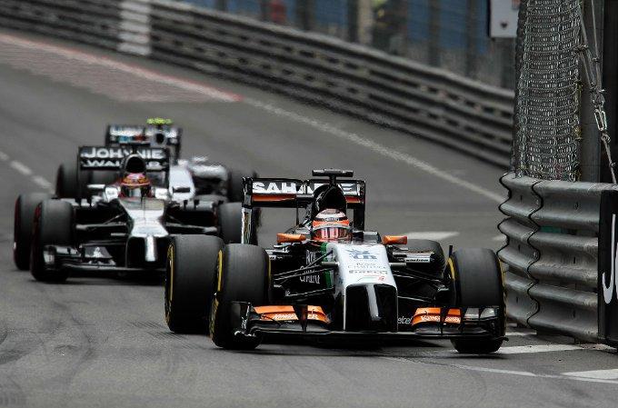 """Force India: Hulkenberg, """"Gara difficile ma un buon quinto posto"""""""