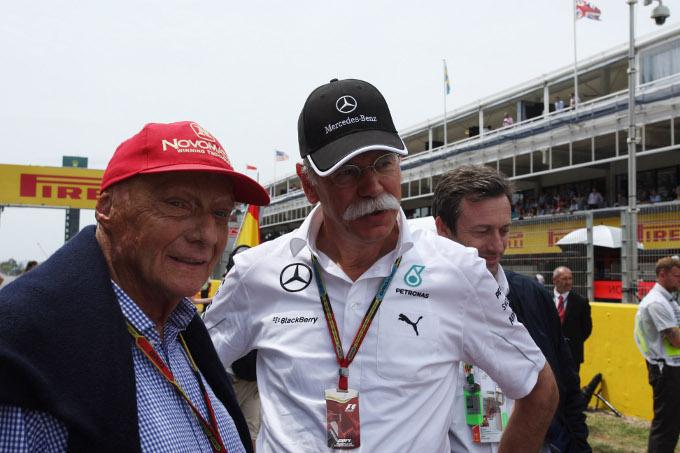 Lauda esclude di sostituire Ecclestone alla guida della F1