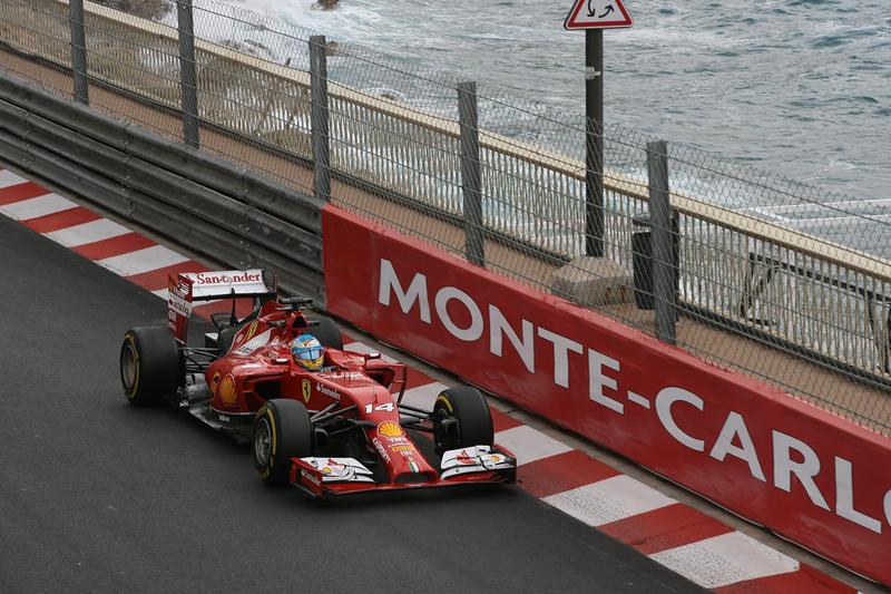 GP Monaco, Prove Libere 2: Alonso beffa Hamilton
