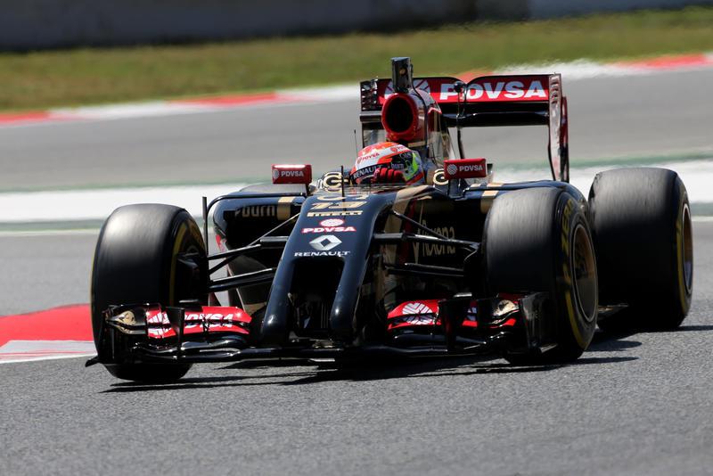 Test F1 a Barcellona: Maldonado protagonista nella seconda giornata