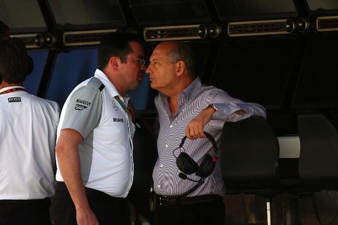 La McLaren potrebbe testare il motore Honda nel 2014