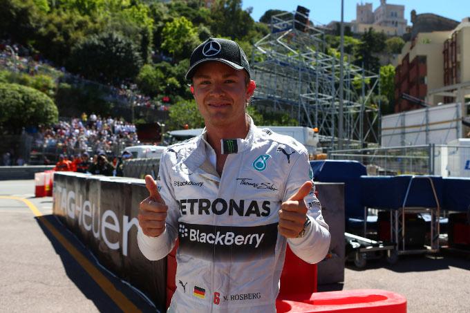 GP Monaco: Rosberg mantiene la pole