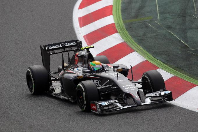 Sauber ancora nelle retrovie in qualifica a Barcellona