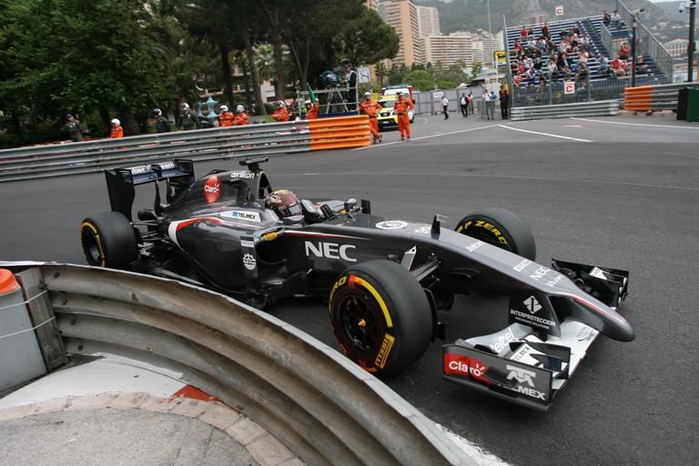 """Sauber, Sutil: """"Il sovrasterzo mi ha fatto andare contro le barriere"""""""