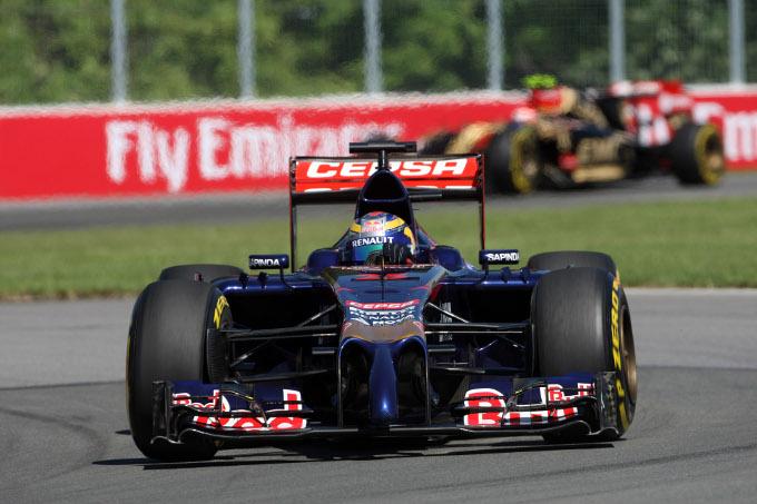 Toro Rosso: Vergne ottavo in griglia, solo 15mo Kvyat