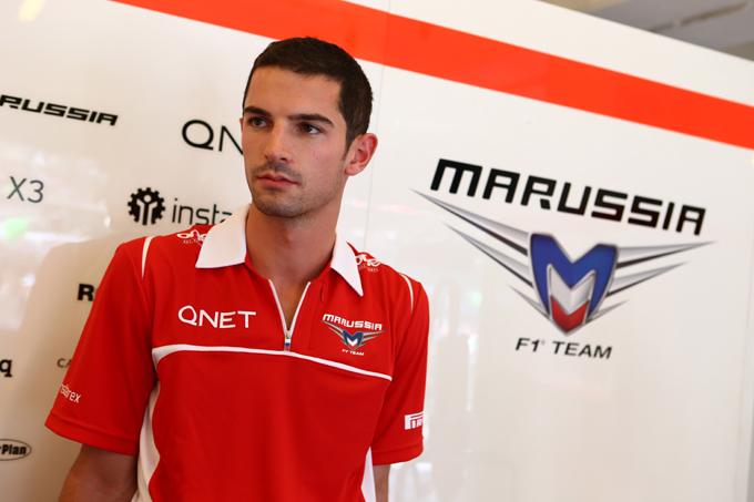 Marussia, Alexander Rossi nuovo pilota di riserva