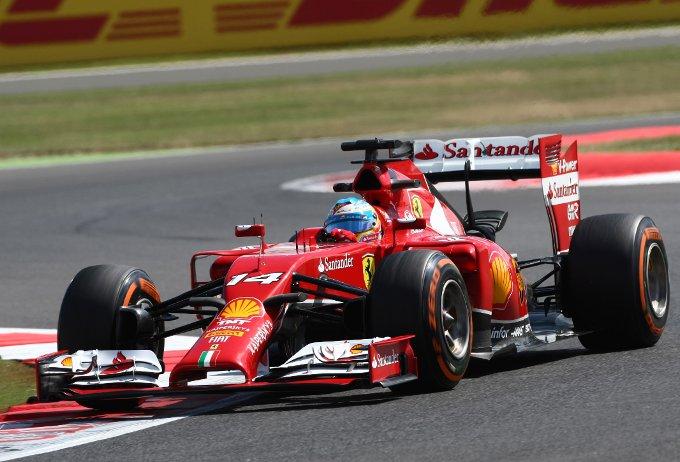 """Alonso: """"Un venerdi molto simile ai precedenti"""""""