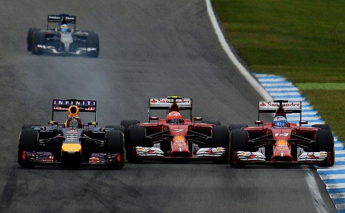 GP di Germania: Alonso intrattenitore d'eccezione