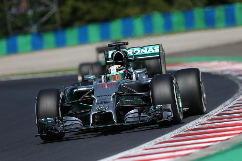 GP Ungheria, Prove Libere 2: Hamilton non molla