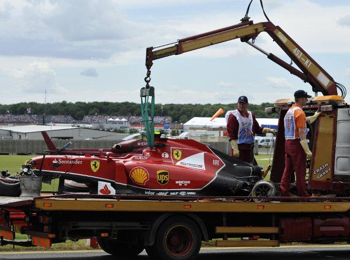 GP di Gran Bretagna – Ferrari: Kimi se la cava, Fernando dà spettacolo