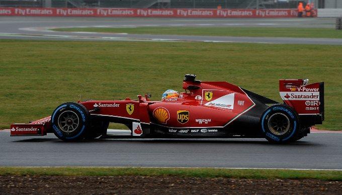 GP di Gran Bretagna – La pioggia beffa la Scuderia Ferrari