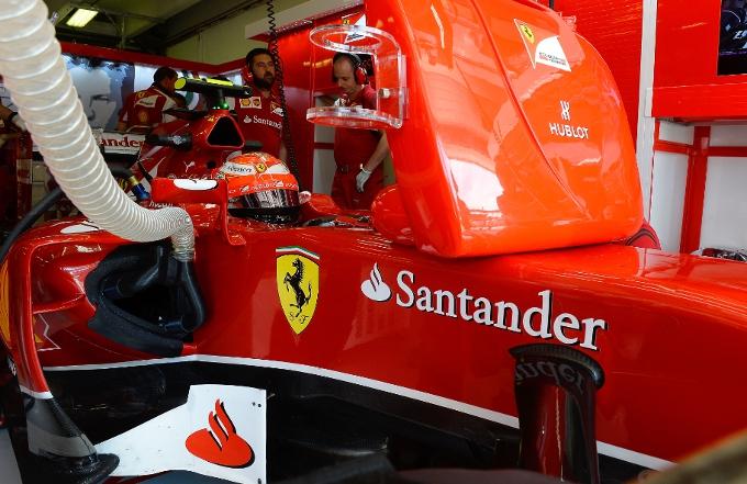Ferrari F1: Un giro di pista con la telemetria