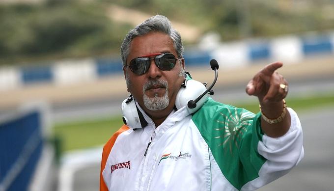 Force India, scatta la libertà provvisoria per Mallya dopo il caso Kingfisher