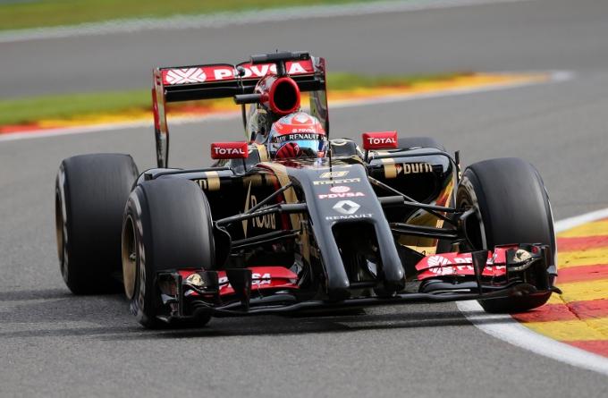 """Lotus: Grosjean, """"Non si sa mai quello che puo' succedere a Spa"""""""