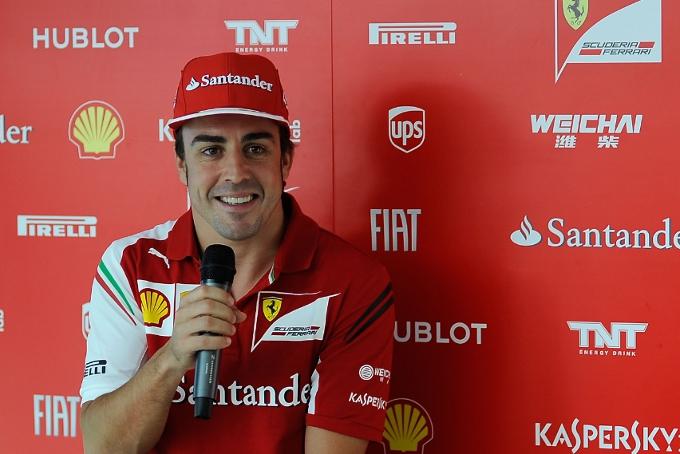 """Alonso: """"Voglio vincere con la Ferrari"""""""
