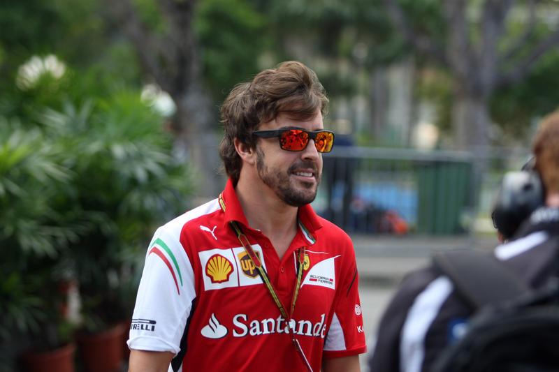 GP Singapore, Prove Libere 1: Alonso al comando